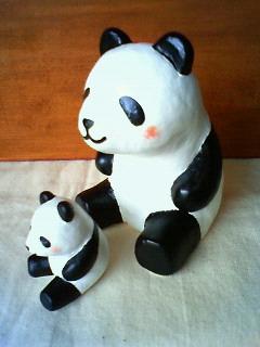 パンダ親子5