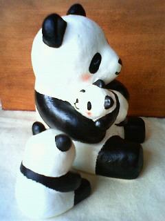 パンダ親子3