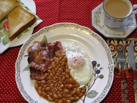 2014イギリス朝食
