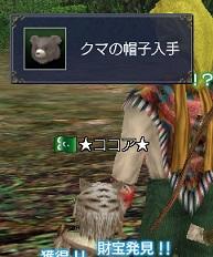 クマの帽子