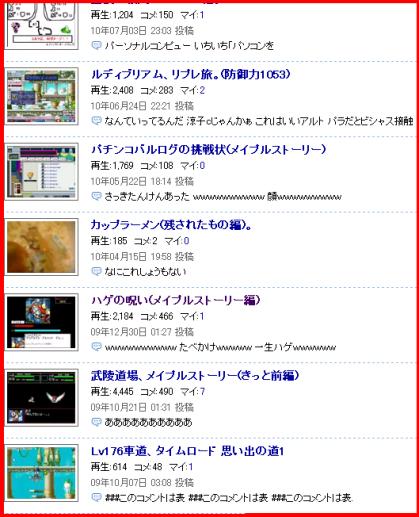 涼子c動画、2525。(ニコニコ)