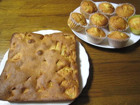 リンゴのケーキ1