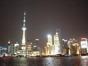 上海浦東風景夜