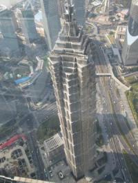 上海ワールドセンターからの景色