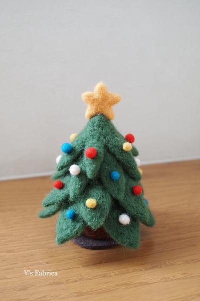 森のクリスマスツリー!