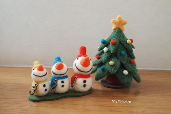 ふかふか可愛い。羊毛フェルトで作る♡クリスマス雑貨アイデア♪