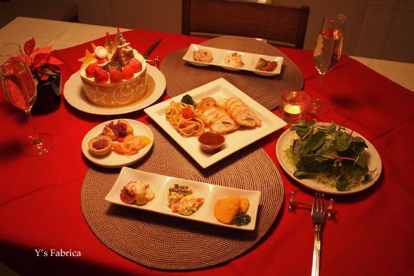 我が家のクリスマスディナーです。