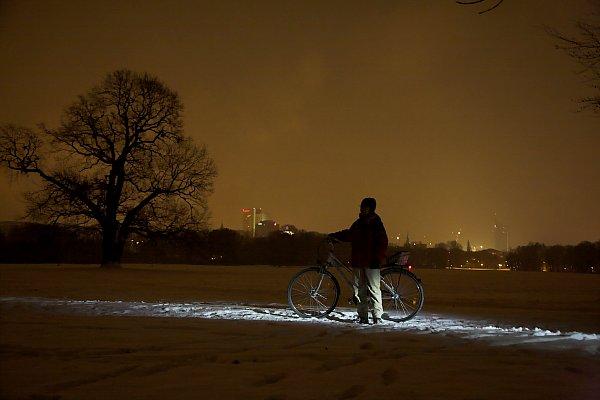 Rosenthal mit schnee am Abened2