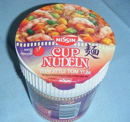 Cup Nudle Tom yan