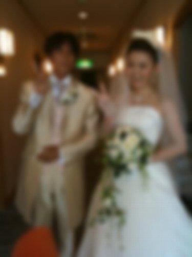 「 僕たち、結婚しましたぁ 」