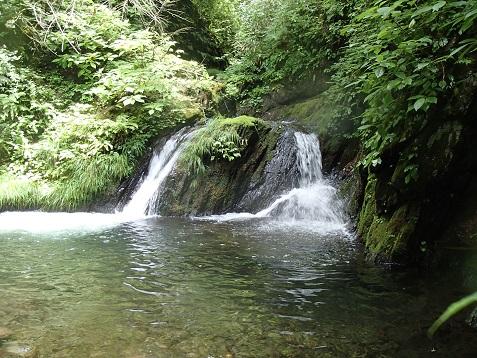 釜付き小滝