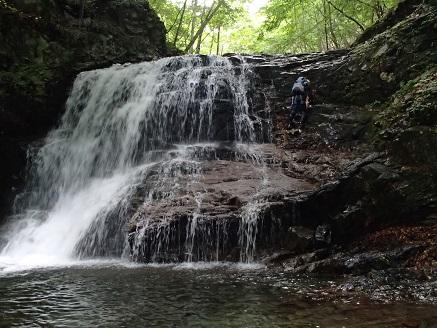幅広5m滝