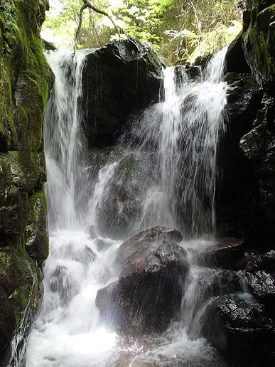 チョックストーン滝