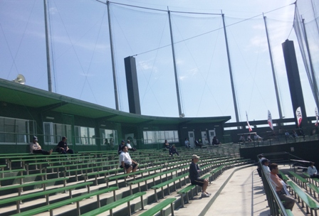 野球場観覧席