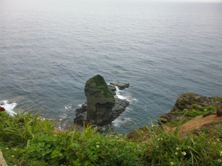 与那国島:立神岩