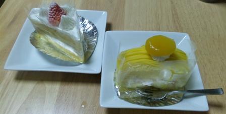 アモンド洋菓子店:ケーキ