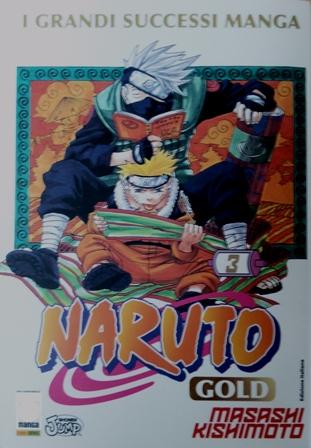 イタリア土産:コミックNARUTO