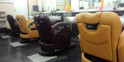店内新理容椅子
