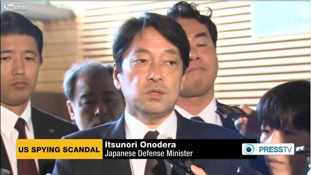 米紙「日本も監視対象ですよ?」 小野寺防衛相「信じたくない・・・」 海外「バカバカしい」