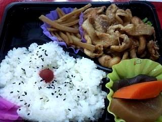 20130514焼肉弁当