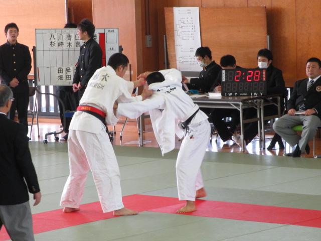 高校柔道大会 航空 012
