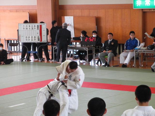 高校柔道大会 航空 011