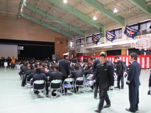 2012.2.11  日本航空学園能登空港キャンパス 卒業式 004