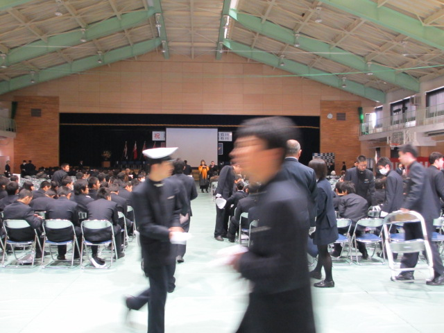 2012.2.11  日本航空学園能登空港キャンパス 卒業式 002
