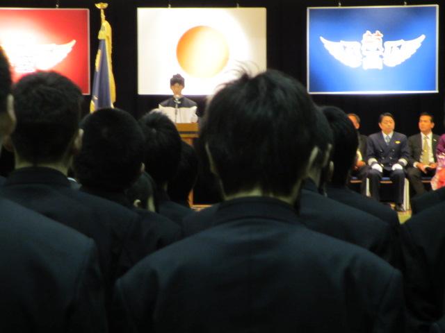 2012.2.11  日本航空学園能登空港キャンパス 卒業式 014