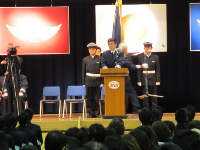 2012.2.11  日本航空学園能登空港キャンパス 卒業式 013