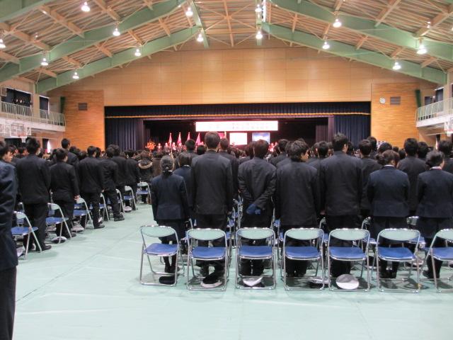 2012.2.11  日本航空学園能登空港キャンパス 卒業式 017