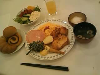 グランテラス千歳の朝食