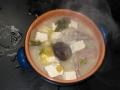 鳥ガラ塩鍋→白湯鍋