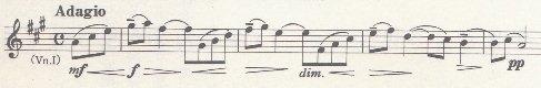 ラフマニノフ:第2交響曲 第3楽章