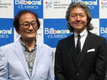 冨田勲先生(左)と大友直人氏