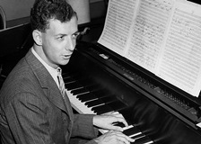 Benjamin Britten on Piano