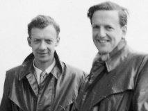 ベンジャミン・ブリテン と ピーター・ピアーズ(右 )