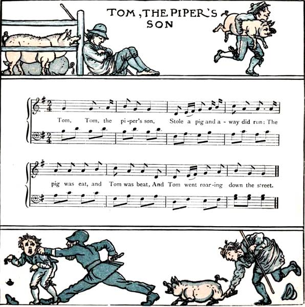Tom Tom The Pipers Son