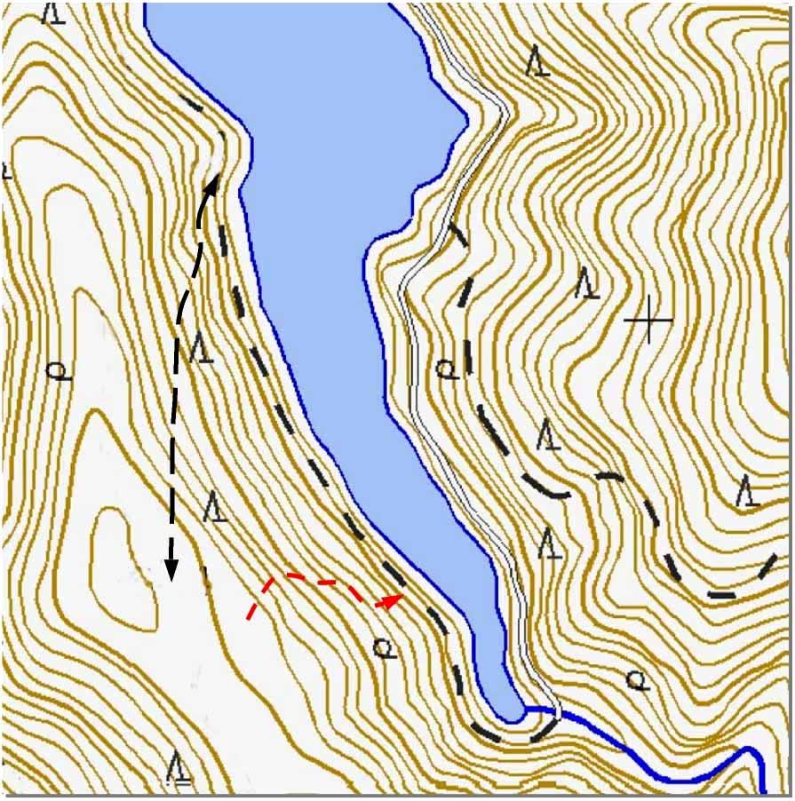 訓練アリア周辺地図