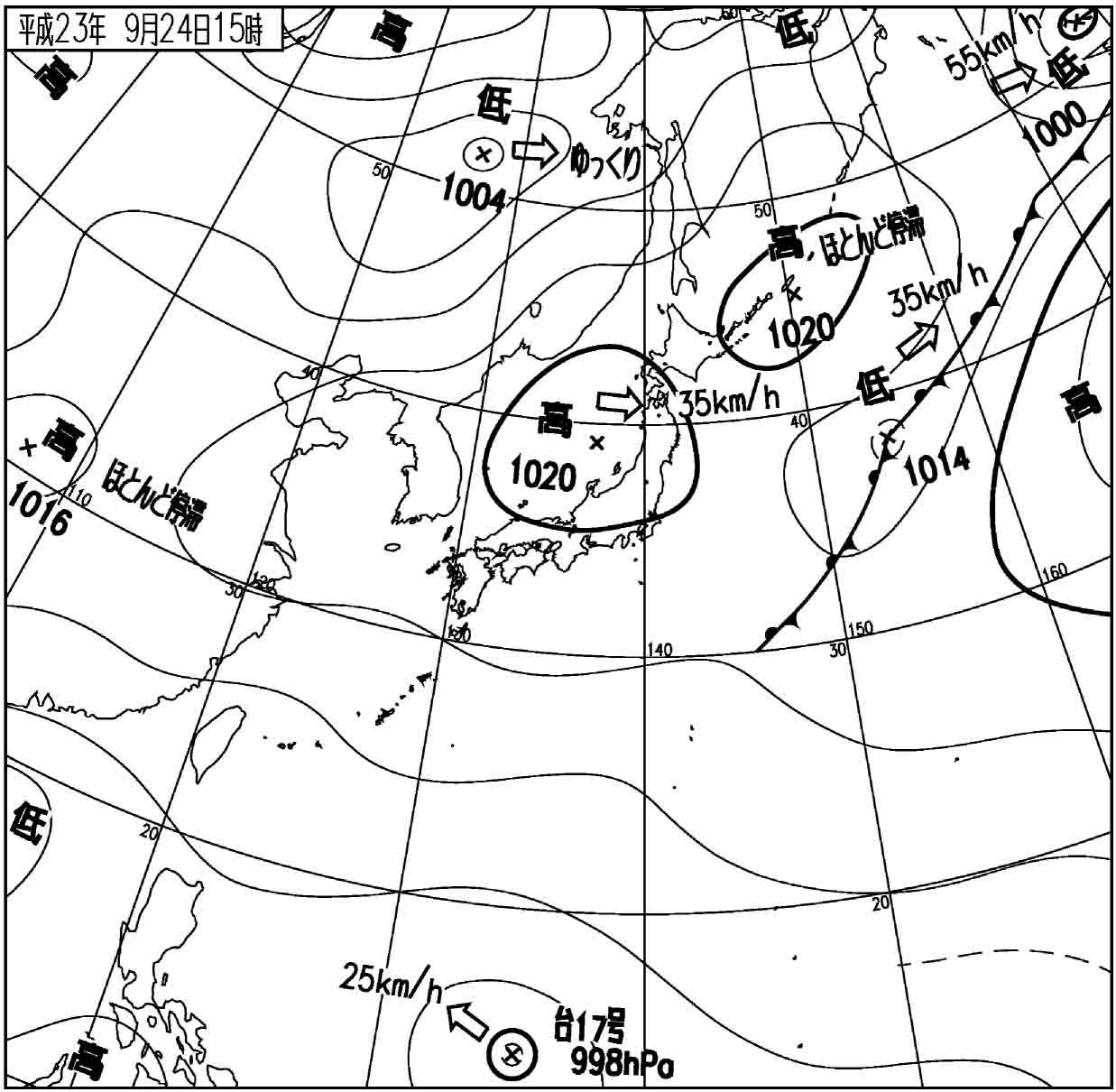 2011092415 天気図