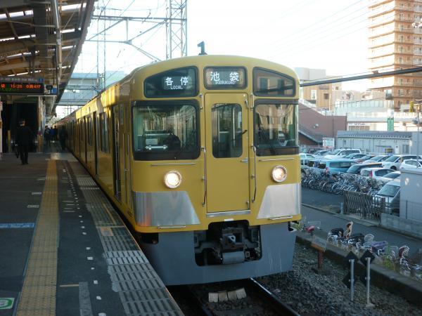 2013-11-30 西武2083F 各停池袋行き4