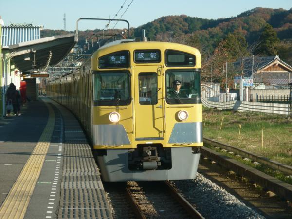 2013-11-30 西武2083F 各停飯能行き3