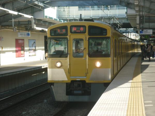 2013-11-30 西武2097F 各停保谷行き1