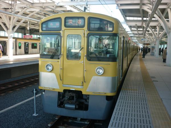 2013-11-30 西武2097F 各停保谷行き2