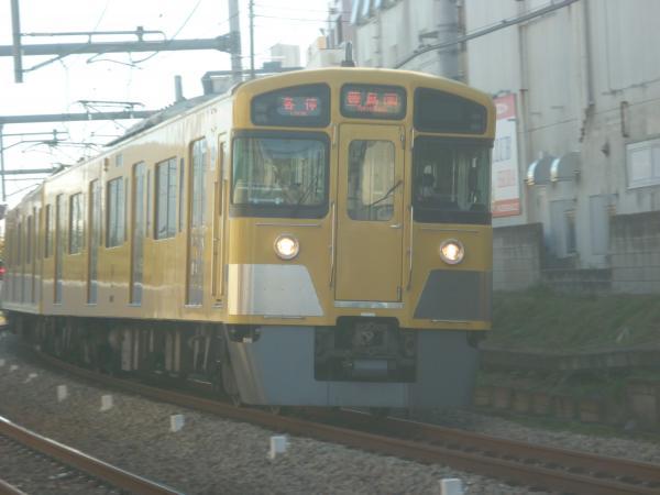 2013-11-30 西武2097F 各停豊島園行き1