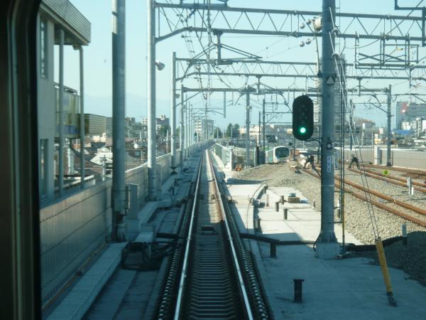 2013-11-30 石神井公園~大泉学園間の下り線1