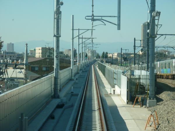 2013-11-30 石神井公園~大泉学園間の下り線2