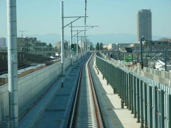 2013-11-30 石神井公園~大泉学園間の下り線3