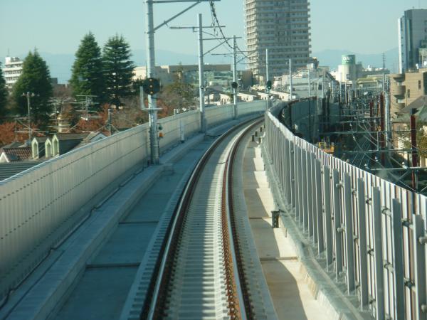 2013-11-30 石神井公園~大泉学園間の下り線7