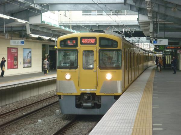 2013-12-08 西武2087F 各停西武球場前行き1